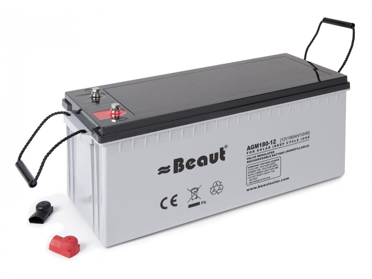 Batteries Beaut 174 Agm Battery 180ah
