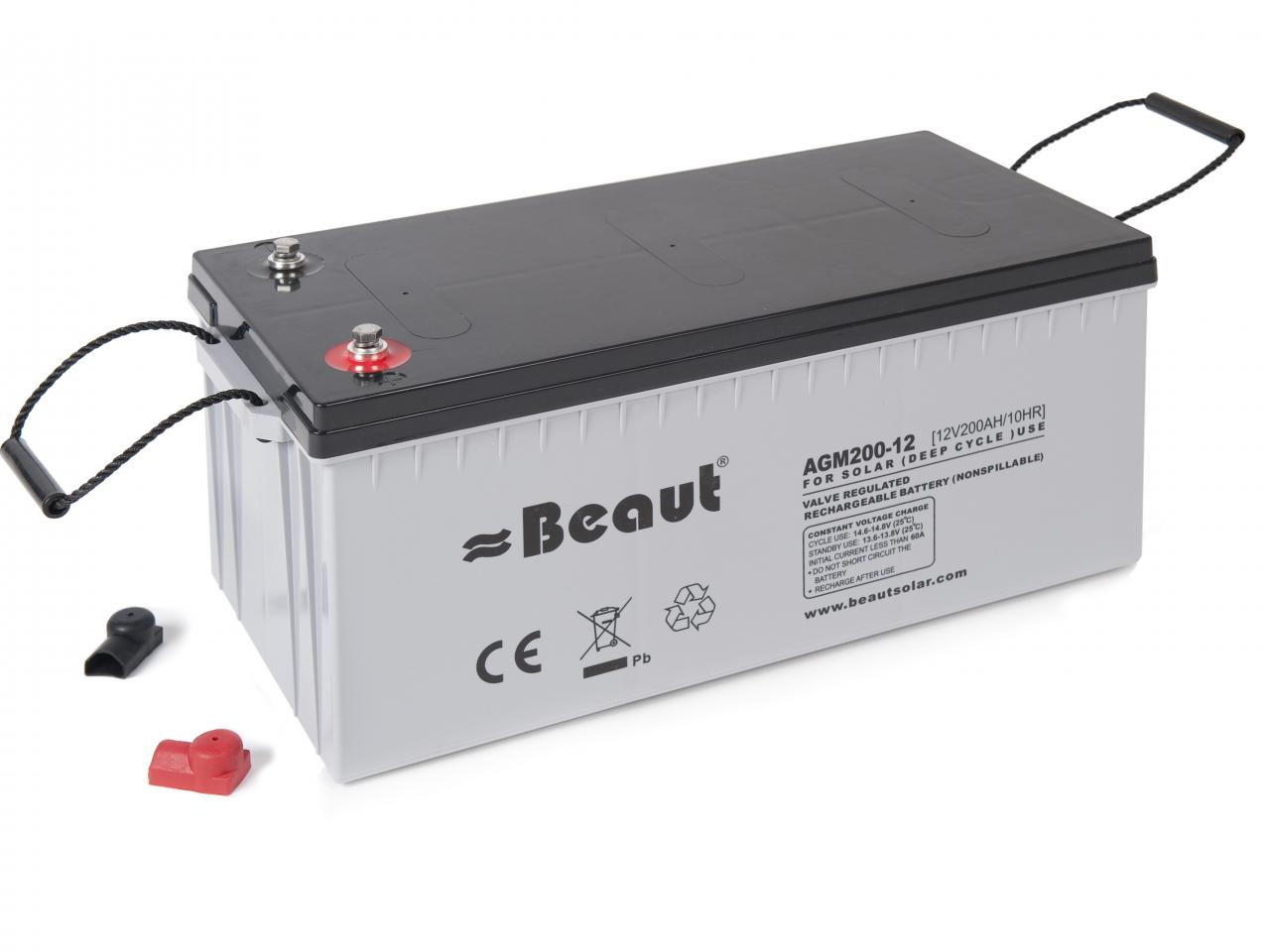 Batteries Beaut 174 Agm Battery 200ah